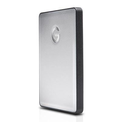 G-Technology G-DRIVE mobile USB 3.0 1000GB Silver WW v3