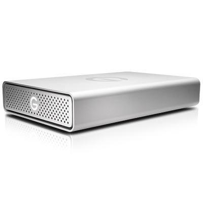 Image of G-Technology G-Drive USB-C 4 TB 3.5 external hard drive USB-C™ Silver 0G05667