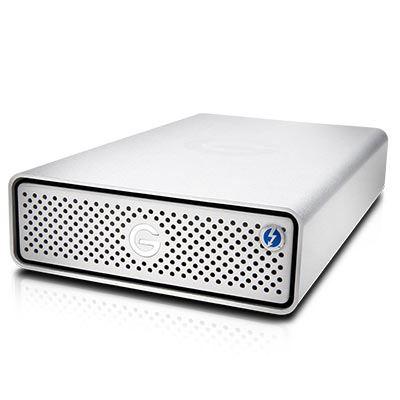 Image of G-Technology G-DRIVE 10TB 7200RPM Thunderbolt 3 + USB3.1 G1 Silver EMEA 5Yr