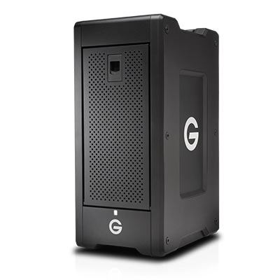 Image of G-Technology G-SPEED Shuttle XL Thunderbolt 3 32TB Black EMEA 5Yr