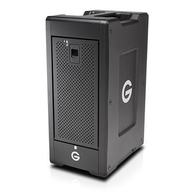 Image of G-Technology G-SPEED Shuttle XL Thunderbolt 3 48TB w/ev Series Bay Black EMEA 5Yr