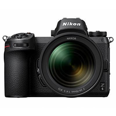 Nikon Z6 Digital Camera with 24-70mm lens and Mount Adapter