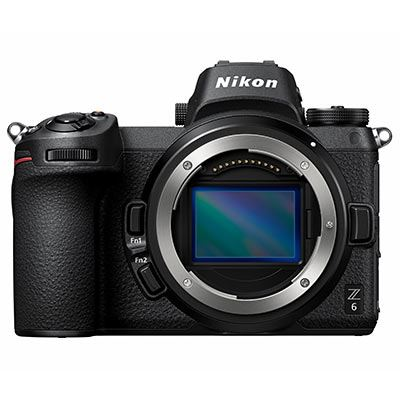 Nikon Z6 Digital Camera with Mount Adapter