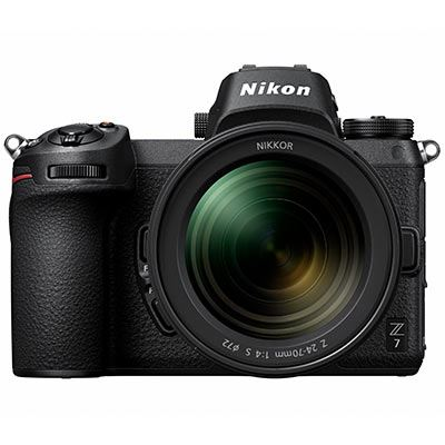 Nikon Z7 Digital Camera with 24-70mm lens and Mount Adapter
