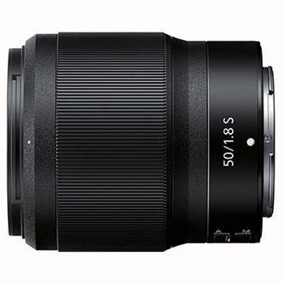 Nikon Z 50mm f1.8 S Lens