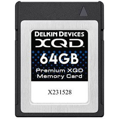 Image of Delkin 64GB Premium XQD Memory Card (Read 440MB/s and Write 400MB/s)