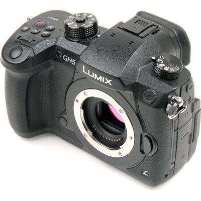 Used Panasonic Lumix DMC-GH5 Digital Camera Body
