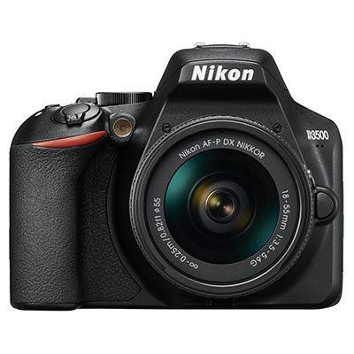 Image of Nikon D3500 Digital SLR Camera with 18-55mm AF-P Non VR Lens