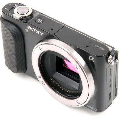 Used Sony NEX-3N body - black
