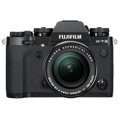 Used Fujifilm X-T3 Digital Camera with 18-55mm XF Lens - Black