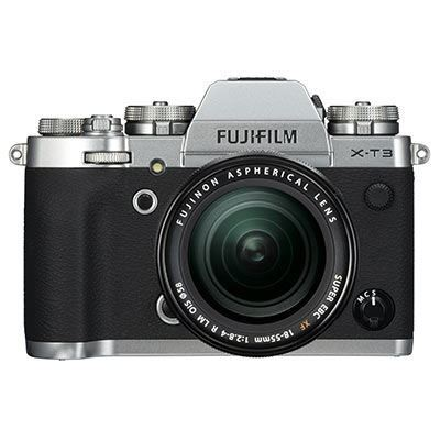 Used Fujifilm X-T3 Digital Camera with 18-55mm XF lens - Silver
