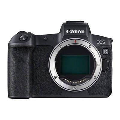 Canon EOS R Digital Camera with EF Adapter