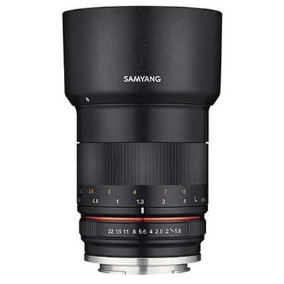 Used Samyang 85mm F1.8 MF Lens - Sony E-Mount Fit