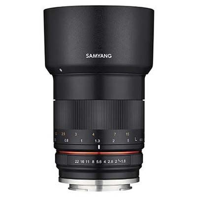 Samyang 85mm F1.8 MF Lens - Fujifilm X-Mount Fit