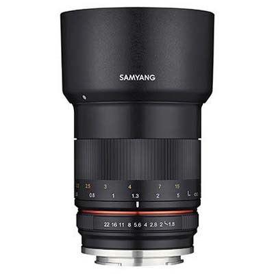 Samyang 85mm F1.8 MF Lens - Micro Four Thirds Fit
