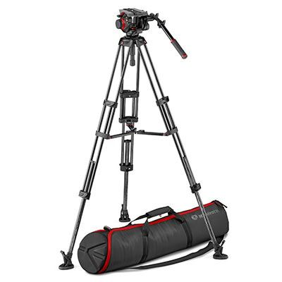 Manfrotto 504 and Carbon Fibre Twin MS