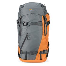 Lowepro Powder BP 500 AW Backpack - Grey / Orange