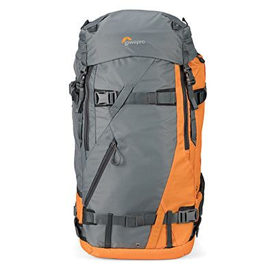 Lowepro Powder BP 500 AW Backpack - Grey / Orange