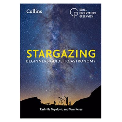 Used Collins Stargazing Book