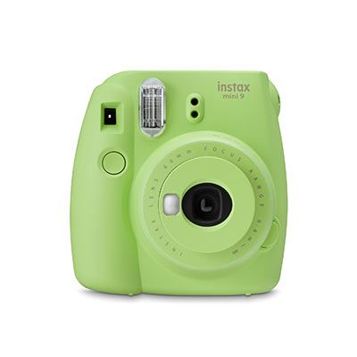 c6b5716a024 Fujifilm Instax Mini 9 Instant Camera with 10 shots - Lime Green ...