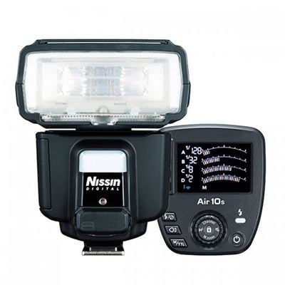 Nissin i60A with Air 10s - Four Thirds