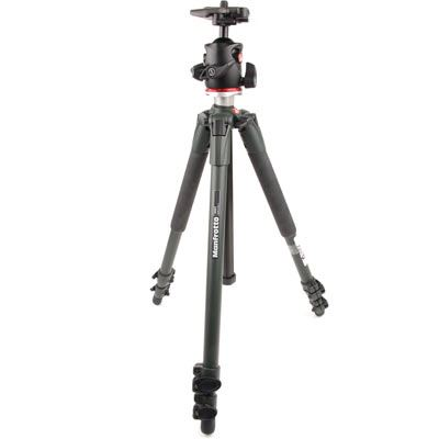 Used Manfrotto 190XV Tripod and MHX Pro - BHQ2 Head