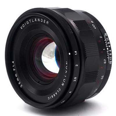 Voigtlander 35mm f1.4 Nokton Classic Lens - Sony E Fit