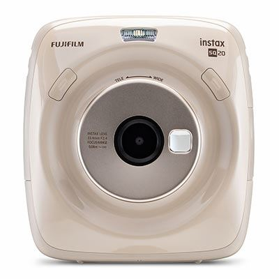 Image of Fujifilm Instax Square SQ20 Hybrid Camera - Beige