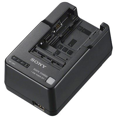 Sony BC-QM1 Battery Charger for M W  H P and V Batteries