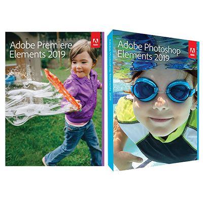 Adobe Photoshop + Premiere Elements 2019