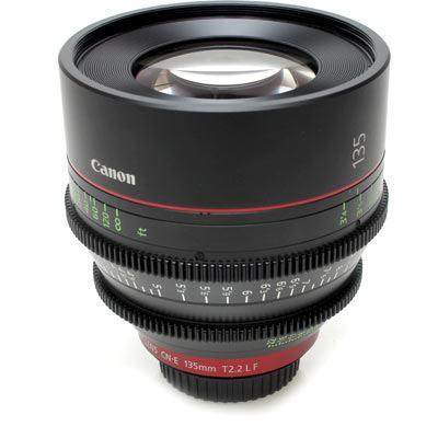 Used Canon CN-E 135mm T2.2 L F Cine Lens