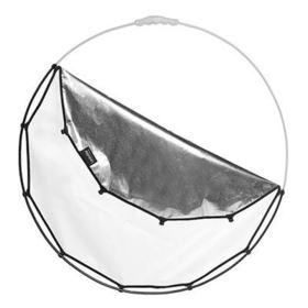 Lastolite HaloCompact Cover 82cm - Silver / White