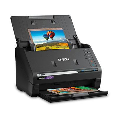 Image of Epson FastFoto FF-680W Scanner