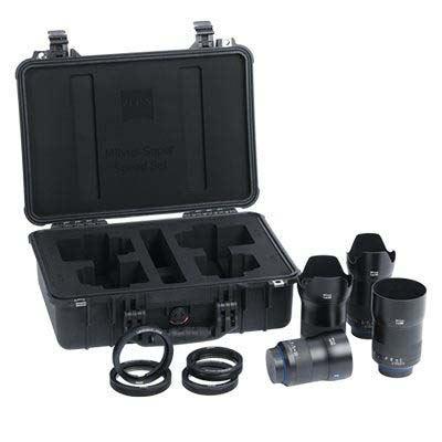 Zeiss Milvus Super Speed ZE Lens Bundle – Canon Fit