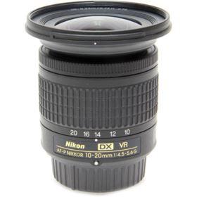 Used Nikon 10-20mm f4.5-5.6 G AF-P DX VR Nikkor Lens