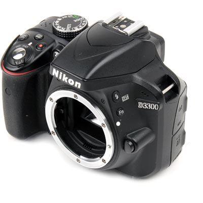 Used Nikon D3300 Digital SLR Camera Body - Black
