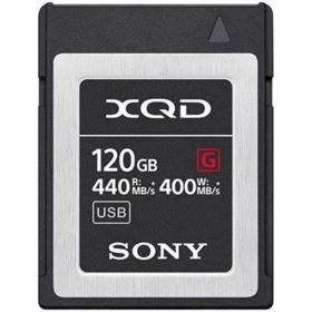 Sony 120GB XQD Flash Memory Card - G Series (Read 440MB/s and Write 400MB/s)