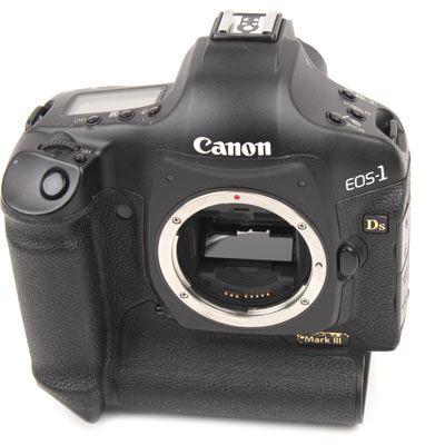 Used Canon EOS 1Ds MK III Digital SLR Camera Body