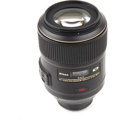 Used Nikon 105mm f2.8 G AF-S VR IF ED Micro Nikkor Lens