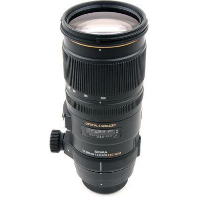Used Sigma 70-200mm f2.8 EX DG OS HSM - Nikon Fit