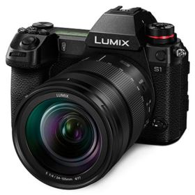 Panasonic Lumix S1 with 24-105mm