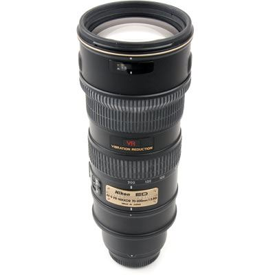Used Nikon 70-200mm f2.8 G AF-S VR IF ED Lens