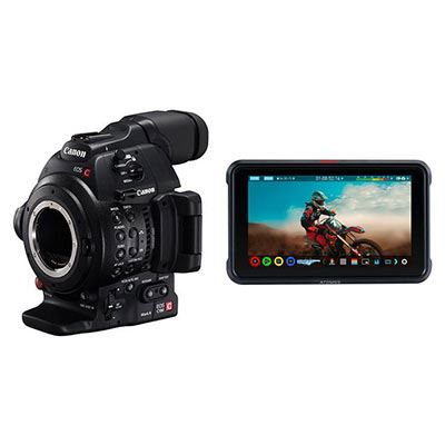 Image of Canon EOS C100 Mark II Atomos Ninja V Kit