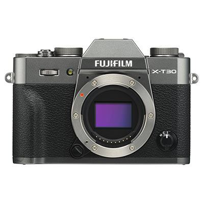 Fujifilm X-T30 Digital Camera Body - Charcoal Grey