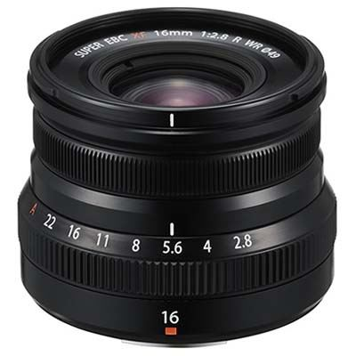 Image of Fujifilm XF 16mm f2.8 R WR Lens - Black