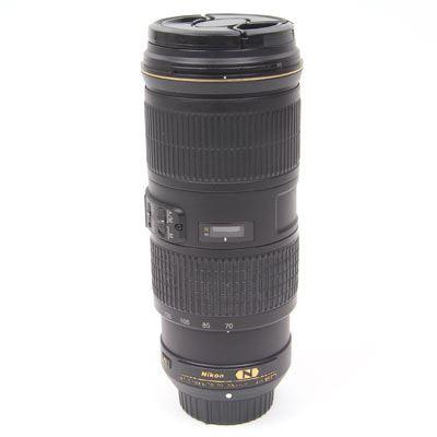 Used Nikon 70-200mm f4 G ED VR Lens