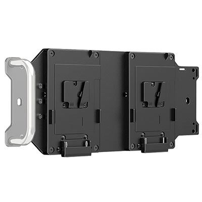 Image of F+V 2-Slot V-Mount Battery Plate for Z1200VC CTD-Soft