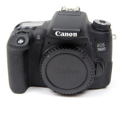 Used Canon EOS 760D Digital SLR Camera Body
