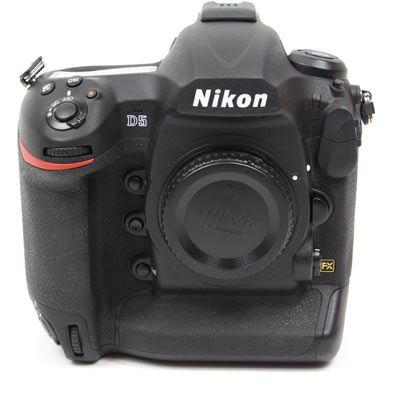 Used Nikon D5 Digital SLR Camera Body – Dual XQD