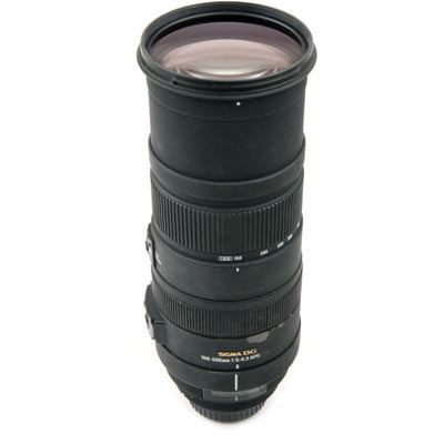 Used Sigma 150-500mm f/5-6.3 DG OS HSM - Canon fit